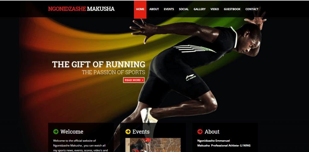 athlete-ngonimakusha.com, webking.be design