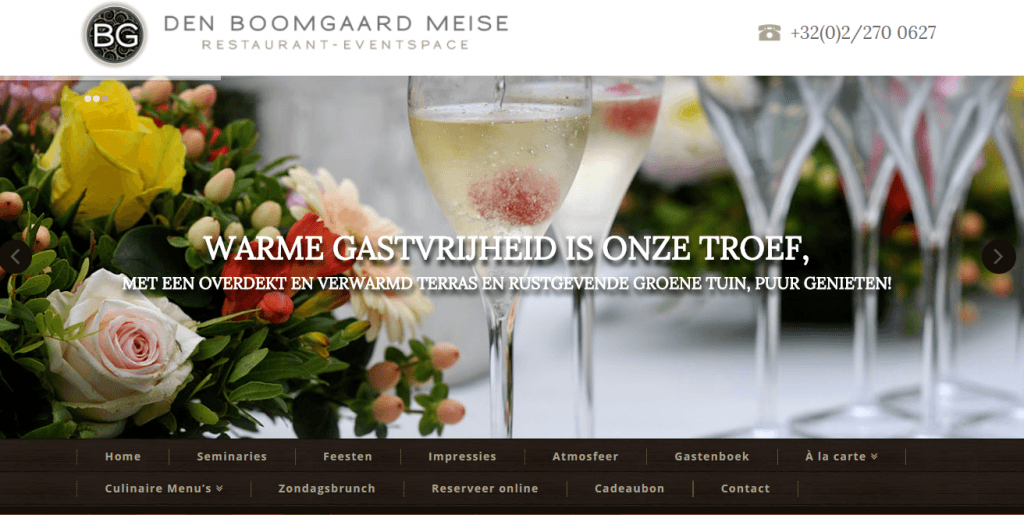 den boomgaards meise, created by webking.be