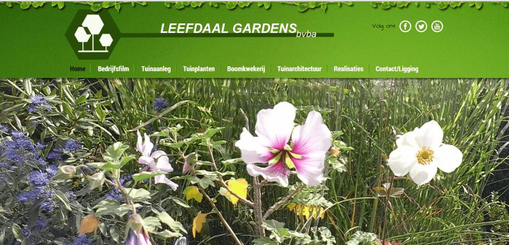 Webking_Leefdaal garden