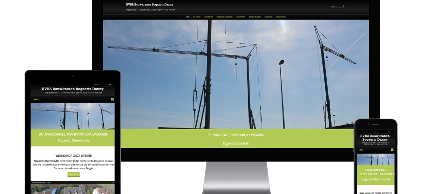 Webking portfolio Bouwkranen Bogaerts