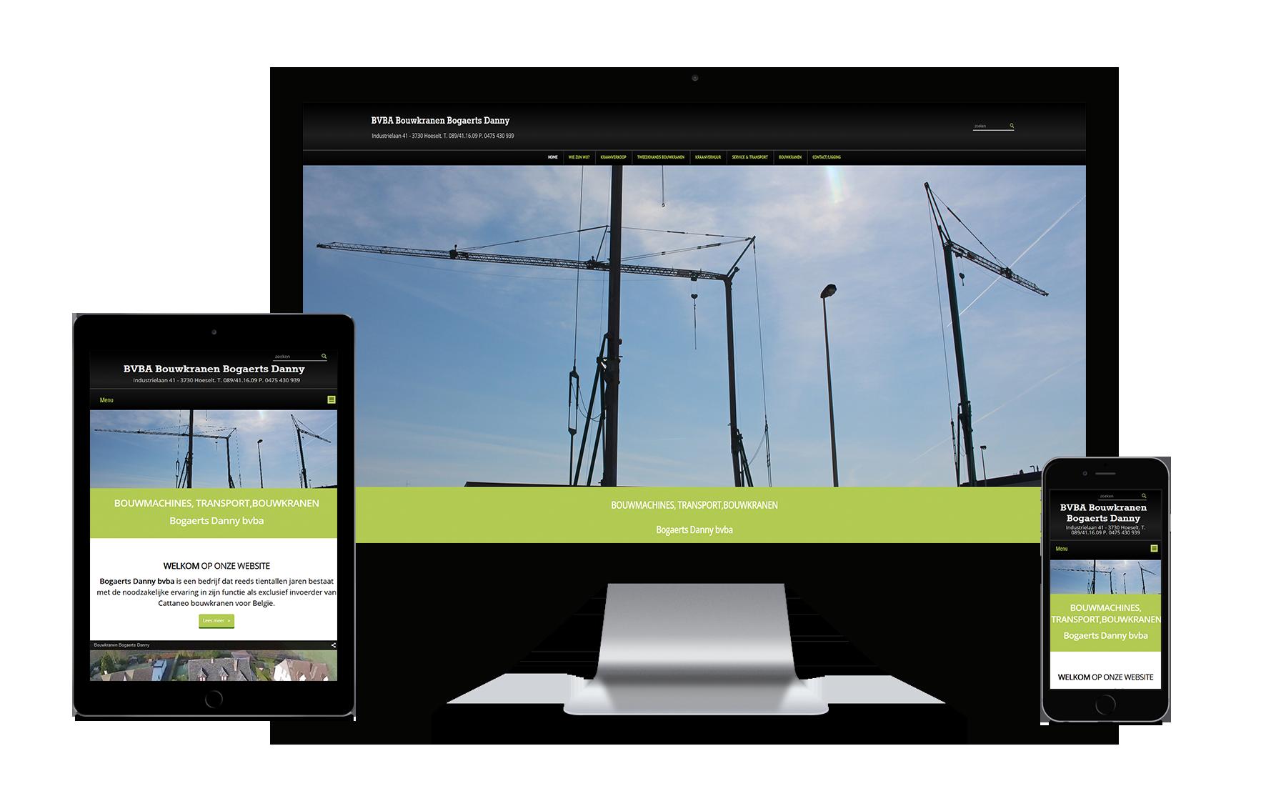 Webking portfolio bouwkranen