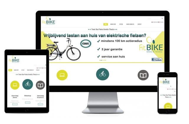 Webking portfolio  Fitbike