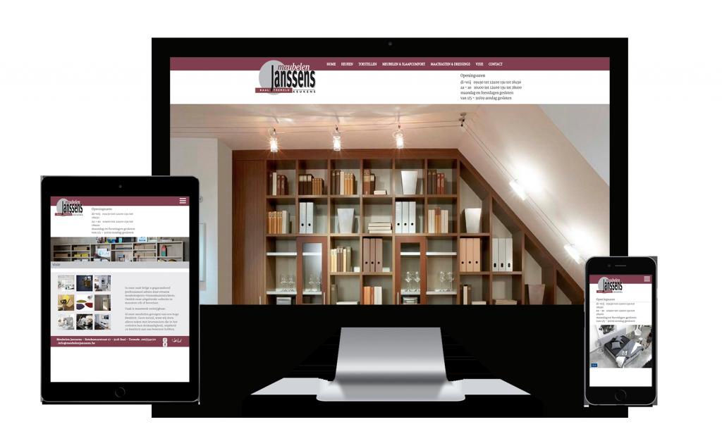 webking portfolio mubelen website