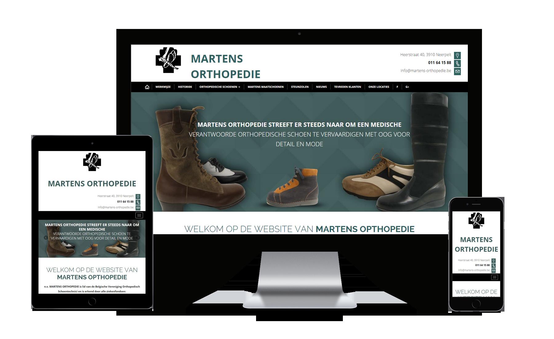 Webking responsive showcase martens